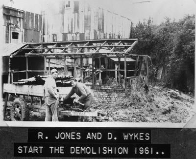 Huntly Brick - Demolition