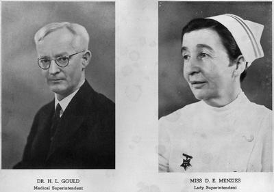 Dr H L Gould & Miss D E Menzies