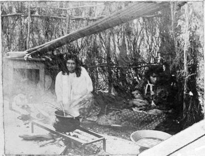 Raglan - Maori women working