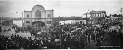 Funeral of Ralph Mine disaster victims, Huntly