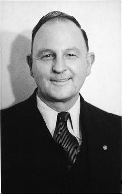 1st President - Huntly Rotary
