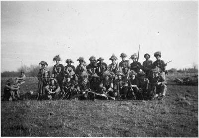 Huntly Home Guard WW2