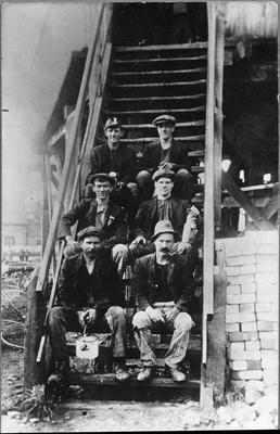 Miners at Ralph's Mine - pre 1914