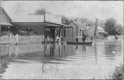 Huntly - flood