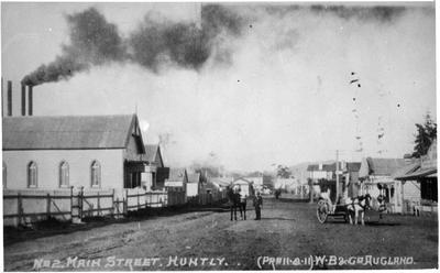Main street Huntly