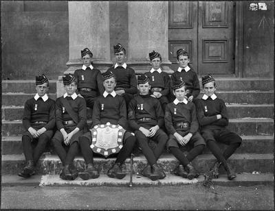 School cadets including W R Friar