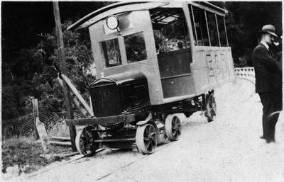 Ellis and Burnand tramline at Ongarue or Manunui