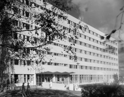 Building at Waikato Hospital