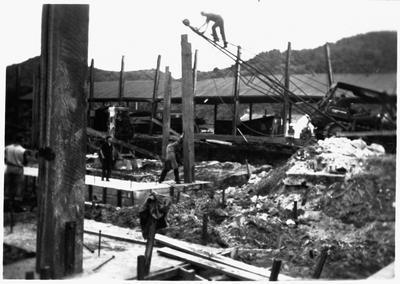 Rebuilding Mangapehi No. 2 sawmill
