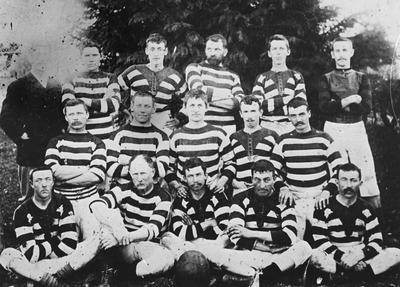 Original Hautapu football team