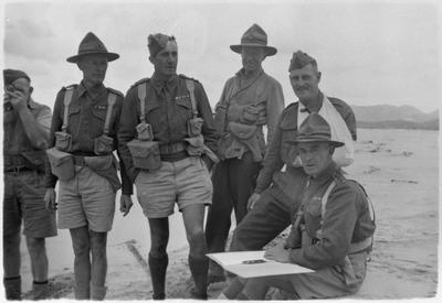 6th Hamilton company NMR Great Barrier Island 1943