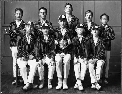 Southwell School cricket team 1924