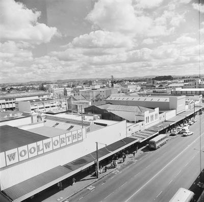 View across central Victoria Street