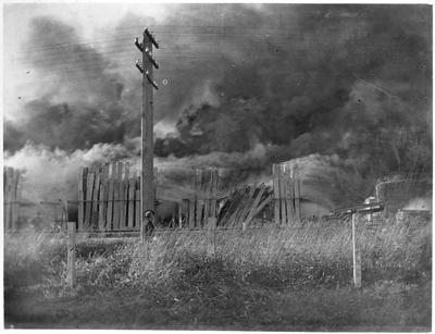 Ellis and Burnand Hamilton - fire - 1916