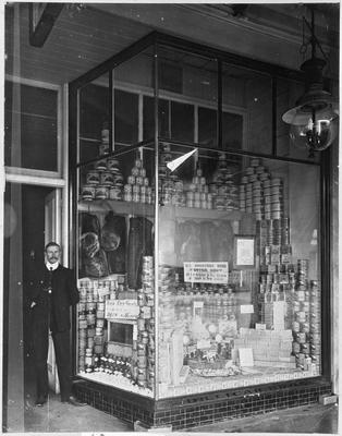 Dillicar Bros General Providers store front window