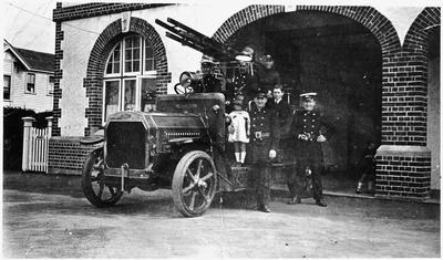 Hamilton Fire Station c. 1920s