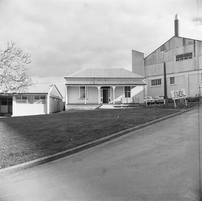 The first Waikato Hospital building