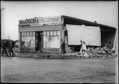 Tornado damage Murdoch's grocery