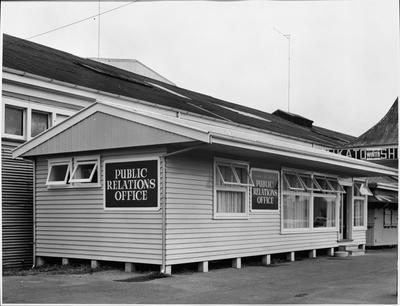 Public Relations Office on Ward Street