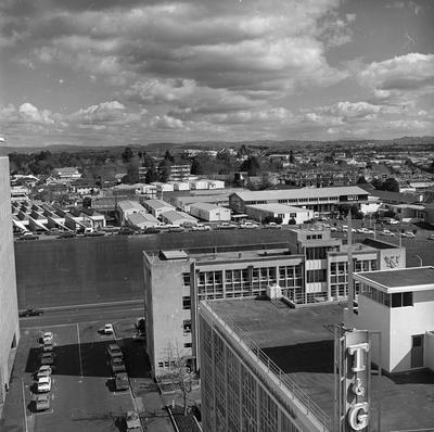 Aerial view of Waikato Technical Institute (WTI)