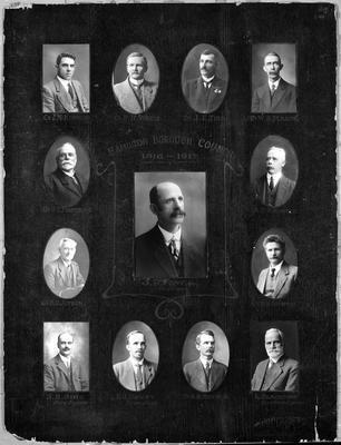 Hamilton Borough Council 1916-17