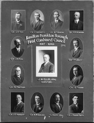 Hamilton-Frankton Borough First Combined Council 1917-1919