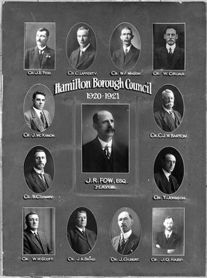 Hamilton Borough Council 1920-21