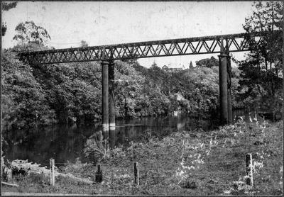 Completed Railway Bridge