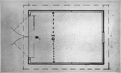 Ellis & Burnand - floor plan - garage
