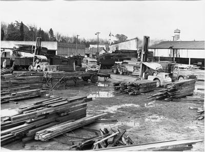 Ellis & Burnand - Hamilton timber yard