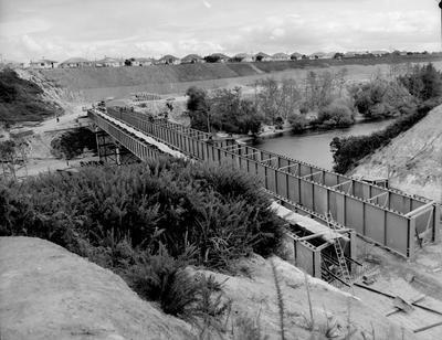 Cobham Bridge under construction