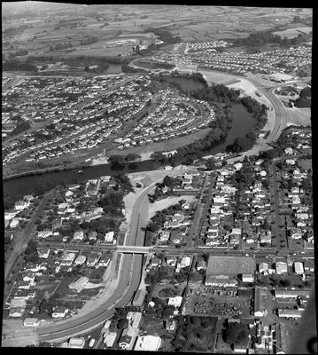 Aerial view of Cobham Drive