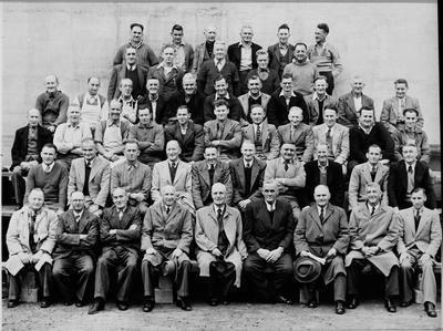 Ellis & Burnand staff, 1953