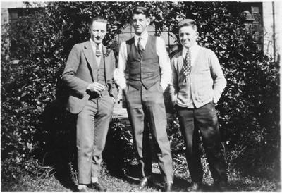 A C Watkins, Reg Clough and Scrubber-Gilling