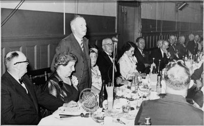 Ellis & Burnand Golden Jubilee dinner