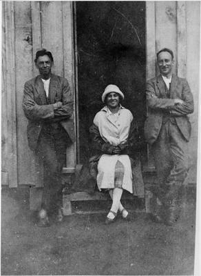 Ellis & Burnand staff: D McCracken, M Wilkinson etc.