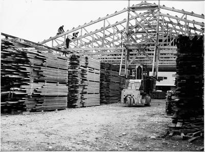 Construction of yard building - Masterton?