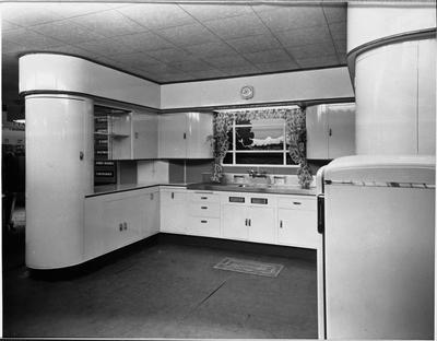 An Ellis & Burnand model kitchen