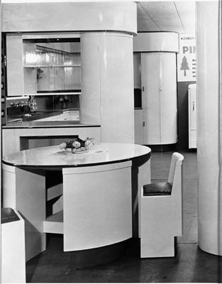 An Ellis & Burnand model kitchen