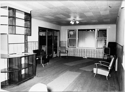 An Ellis & Burnand display room featuring living room furnishings