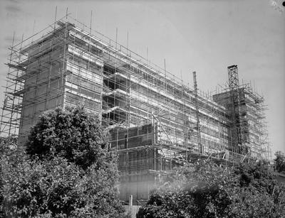Waikato Hospital building under construction