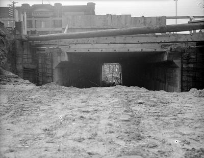 Railway tunnel beneath Victoria Street
