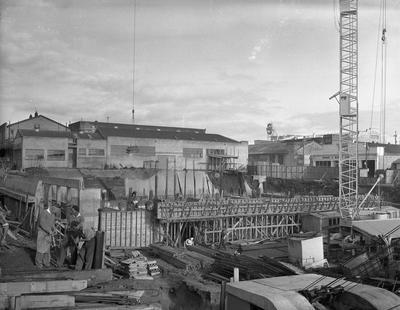 State Advances Corporation building under construction