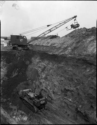 Lowering the railway line