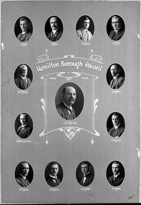 Hamilton Borough Council 1925-1926