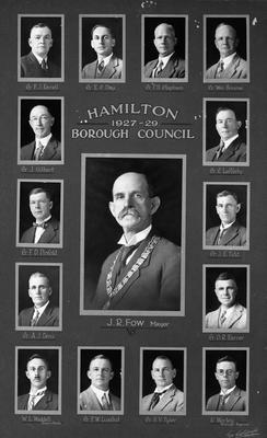 Hamilton Borough Council 1927-1929
