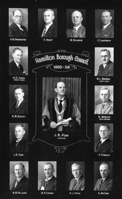 Hamilton Borough Council 1935-1938