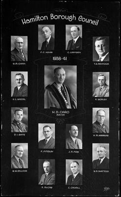 Hamilton Borough Council 1938-1941