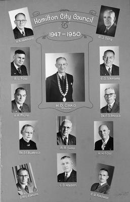 Hamilton City Council 1947-50