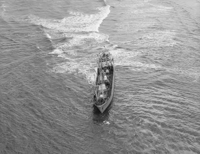 Freight vessel, in trouble?